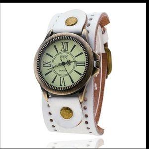 Accessories - High Quality Vintage Leather Bracelet Watch Antiqu
